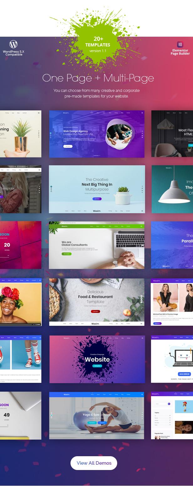 Wexim - Creative WordPress Theme - 2